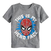 Toddler Boy Jumping Beans® Marvel Spider-Man 'This Is My Hero Face' Graphic Tee