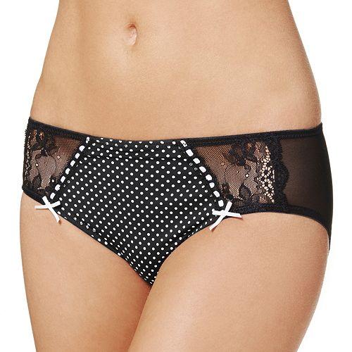 Perfects Australia Anna Polka-Dot Microfiber Bikini Panty - 14UBK40