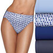 Hanes Ultimate 4-pack Comfort Microfiber Cool Comfort Hi-Cut Panty HXMFHC