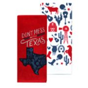 Celebrate Americana Together Don't Mess with Texas Kitchen Towel