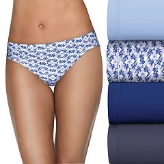 Hanes Ultimate 4-pack Comfort Microfiber Cool Comfort Bikini Panty HXMFBK