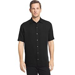 Big & Tall Van Heusen Classic-Fit Dobby Button-Down Shirt