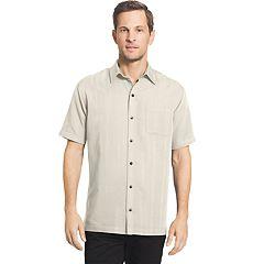 Big & Tall Van Heusen Classic-Fit Dobby Button-Down Shirt