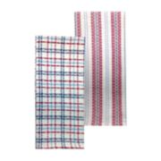 Celebrate Americana Together Waffle Kitchen Towel 2-pack