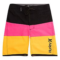 Boys 4-7 Hurley Triple Threat Colorblock Board Shorts