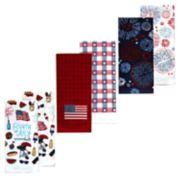 Celebrate Americana Together Kitchen Towel 6-pack
