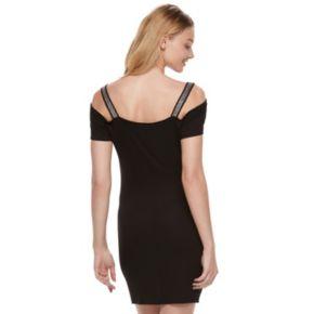 Women's Rock & Republic® Cold-Shoulder Sheath Dress
