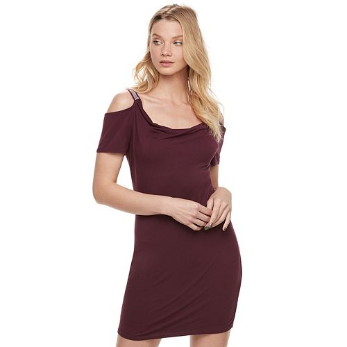 Women's Rock & Republic® Cold-Shoulder Sheath Dress