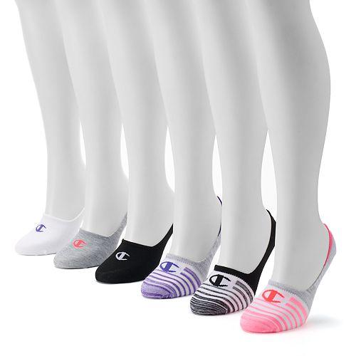 Women's Champion 6-pk. Flat Knit Performance Liner Sock