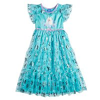 Disney's Frozen Elsa Toddler Girl Fantasy Nightgown