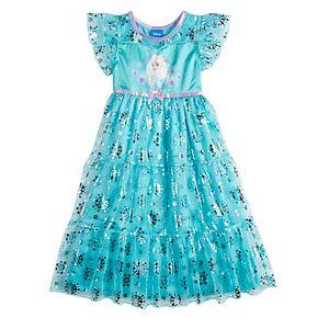 Disney's Frozen Elsa Toddler Girl Fantasy Nightgown