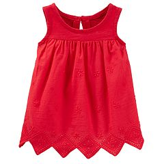 Baby Girl OshKosh B'gosh® Embroidered Top