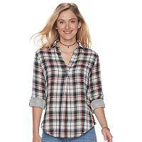 Women's SONOMA Goods for Life™ Print Popover Shirt