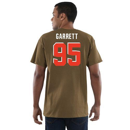 Men s Majestic Cleveland Browns Myles Garrett Eligible Receiver Tee ecbae8cac