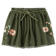 Toddler Girl Carter's Floral Gauze Skirt