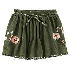 Toddler Girl Carter's Floral Gauze Skirt