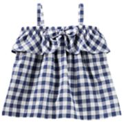 Baby Girl OshKosh B'gosh® Gingham Bow Tank Top