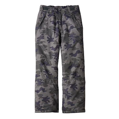 Boys 8-20 Drift Reinforced-Knee Snowpants