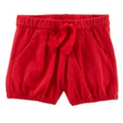 Baby Girl OshKosh B'gosh® Pleated Bubble Shorts
