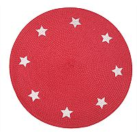 Celebrate Americana Together Round Stars Placemat