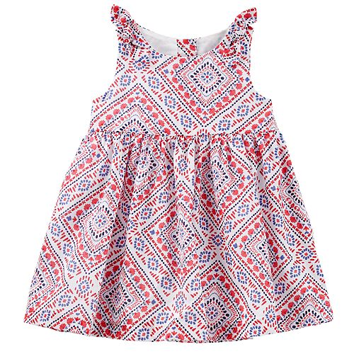 Baby Girl OshKosh B'gosh® Bandana Print Dress