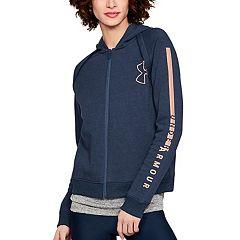 Women's Under Armour Rival Fleece Full Zip Hoodie