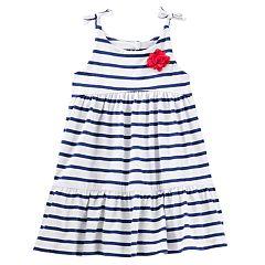 Baby Girl OshKosh B'gosh® Striped Babydoll Dress