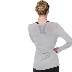 Women's Soybu Endurance Peek-A-Boo Racerback Long Sleeve Tee