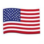 Celebrate Americana Together Wavy Flag Placemat