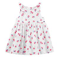 Baby Girl OshKosh B'gosh® Fruit Bow Dress