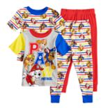 Toddler Boy Paw Patrol Chase, Marshall, Rubble & Skye Tops & Bottoms Pajama Set