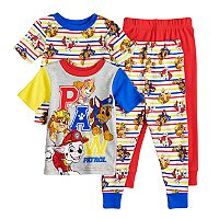 Toddler Boy Paw Patrol Chase, Marshall, Rubble & Skye Tops & Bottoms Pajama Set