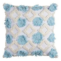 Rizzy Home Geometric Applique Throw Pillow