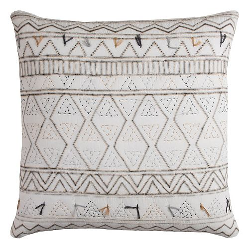 Rizzy Home Tribal Global Traveler Throw Pillow