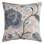 Rizzy Home Bright Floral Throw Pillow