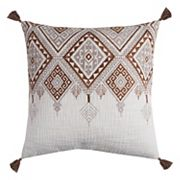 Rizzy Home Tribal Tassels Throw Pillow