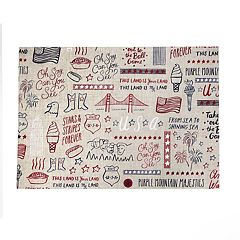 Celebrate Americana Together America Icons Toss Placemat