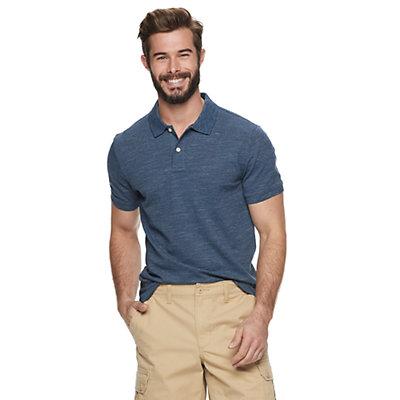 Men's SONOMA Goods for Life? Flexwear Stretch Pique Polo