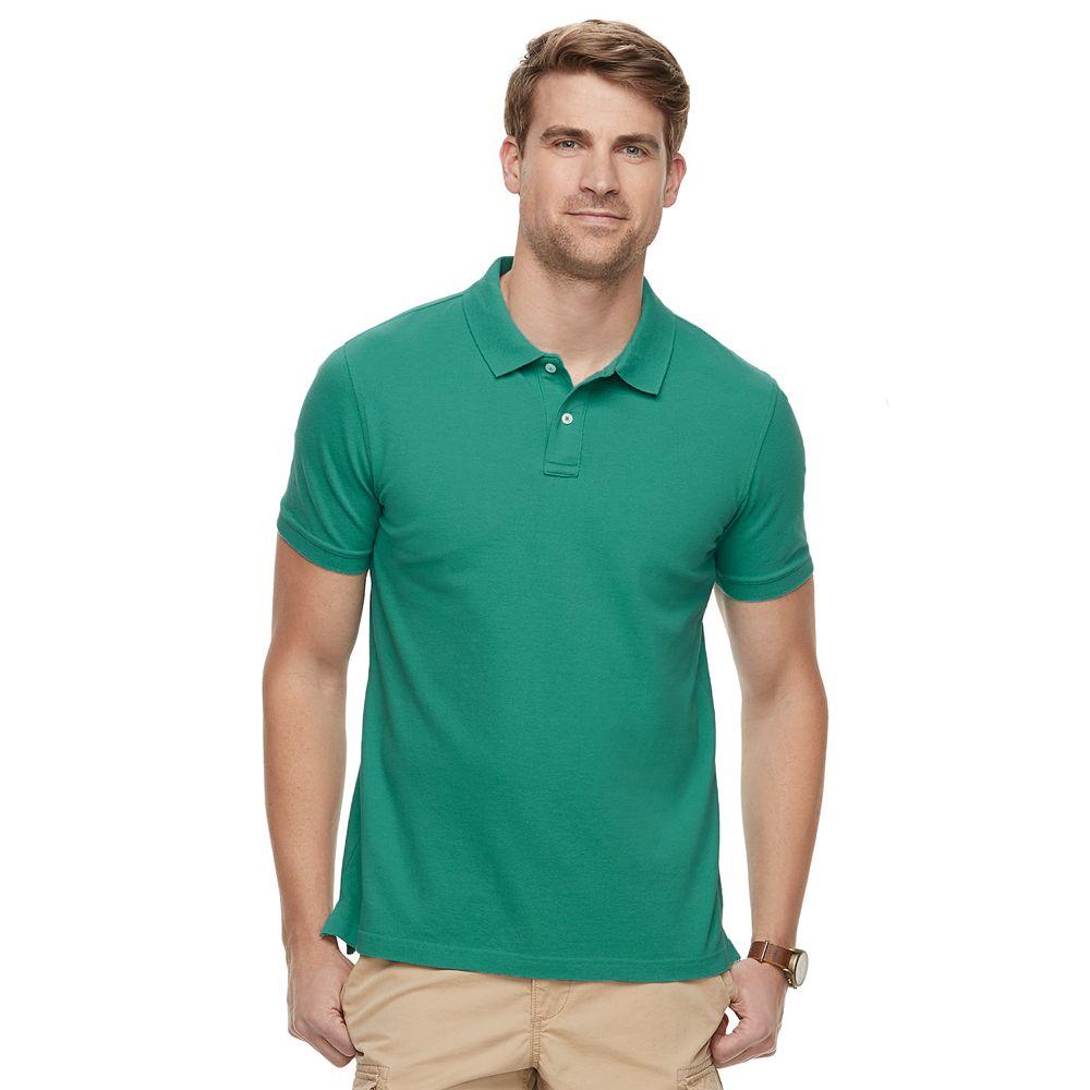 Men's SONOMA Goods for Life® Super Soft Pique Polo