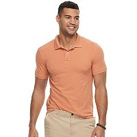 Men's SONOMA Goods for Life™ Flexwear Modern-Fit Stretch Pique Polo