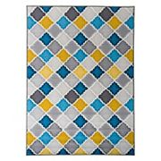 World Rug Gallery La Jolla Contemporary Moroccan Trellis Rug