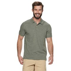 Men's SONOMA Goods for Life™ Flexwear Slim-Fit Stretch Pique Polo