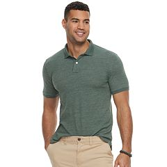 Men's SONOMA Goods for Life™ Flexwear Slim-Fit Stretch Pique Polo