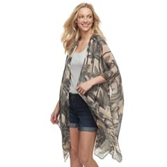Women's SONOMA Goods for Life™ Palm Print Kimono