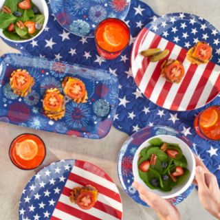 """Celebrate Americana Together Quilted Stars & Stripes Table Runner - 54"""""""