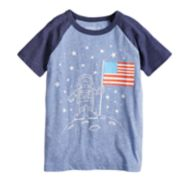 Boys 4-10 Jumping Beans® Astronaut American Flag Graphic Tee