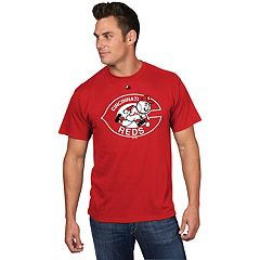 Men's Majestic Cincinnati Reds Cooperstown Official Logo Tee