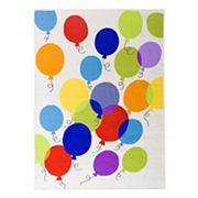 World Rug Gallery La Jolla Kids Balloon Rug - 5' x 7'
