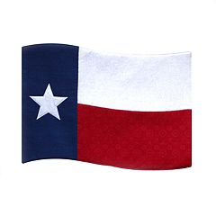 Celebrate Americana Together Texas Wavy Flag Placemat
