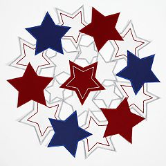 Celebrate Americana Together Star Cutout Placemat